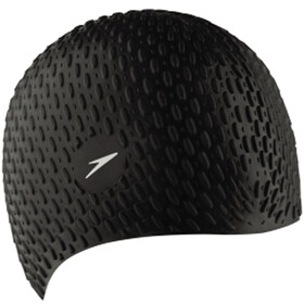 speedo Bubble Cap Unisex, black